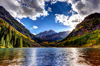 VISITING THE MAROON BELLS